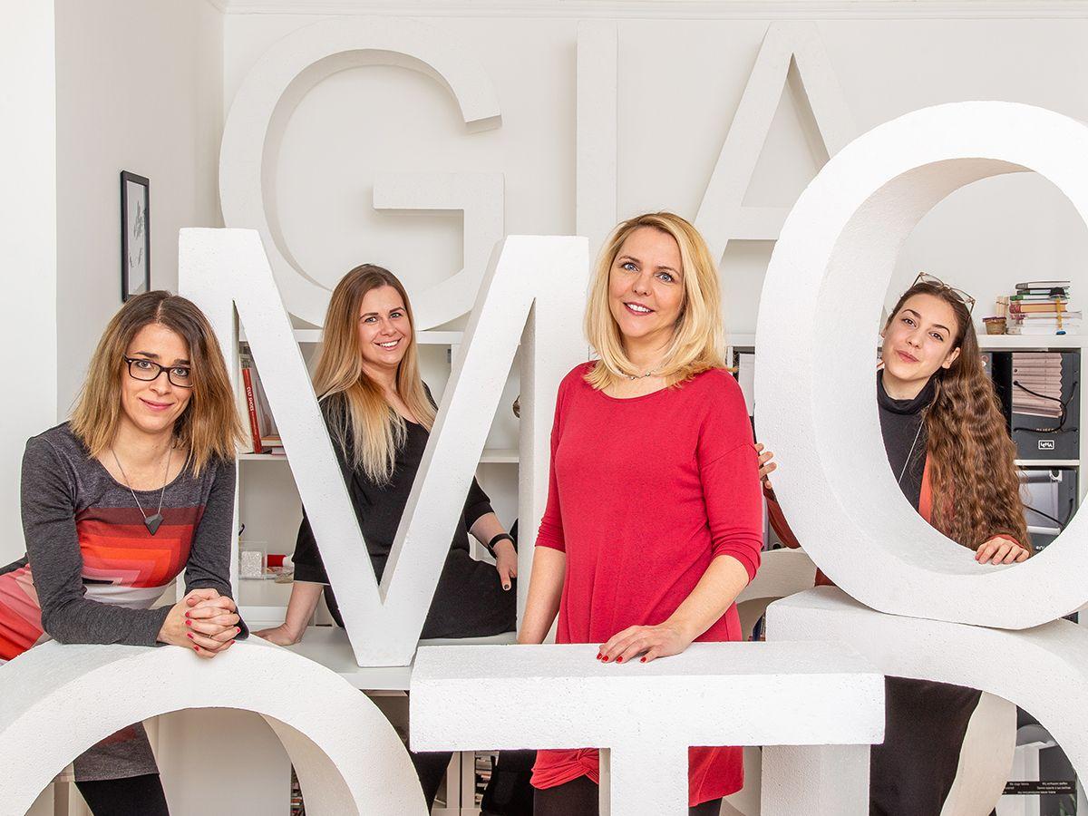 Civil Impact csapat kép 4 fővel