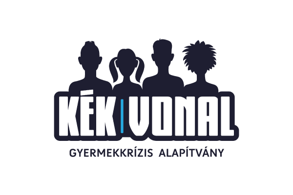 Kék Vonal Gyermekkrízis Alapítvány logo